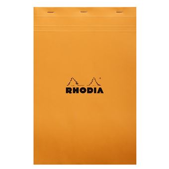 RHODIA RHODIA BLOC N19 Q5 - ORANGE