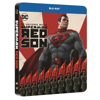 SupermanSUPERMAN RED SON-FR-BLURAY STEELBOOK