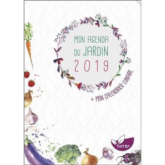 Mon agenda du jardin 2019