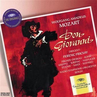 Don Giovanni Coffret Edition Limitée Inclus livre-disque et Blu-ray