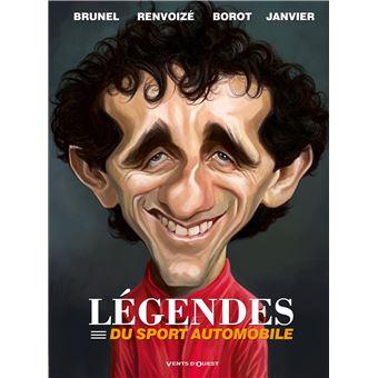 Légendes du sport automobile - Roger Brunel,Jean-Paul Renvoizé,Michel Janvier,Jean-Marc Borot