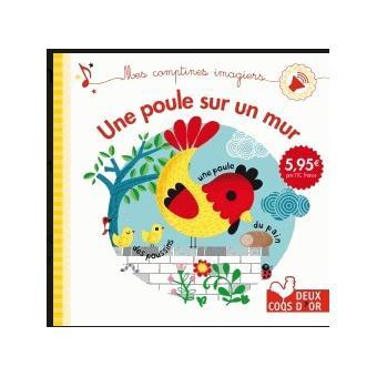 Une poule sur un mur - livre sonore