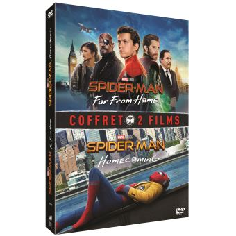 Spider-ManCoffret Spider-Man : Far From Home et Spider-Man : Homecoming DVD