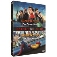 Coffret Spider-Man : Far From Home et Spider-Man : Homecoming DVD