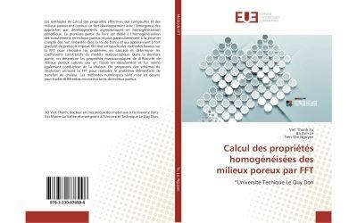 Calcul des propriétés homogénéisées des milieux poreux par FFT