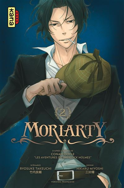 Book'in n°6 - Moriarty Moriarty