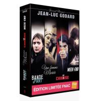Coffret Godard 4 films Edition spéciale Fnac  DVD