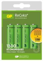 GP 4 Piles AA Ecopower 1300 maH