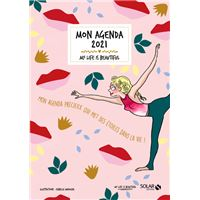 Mon agenda 2021 My life is beautiful