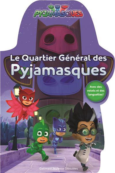 Le quartier général des Pyjamasques