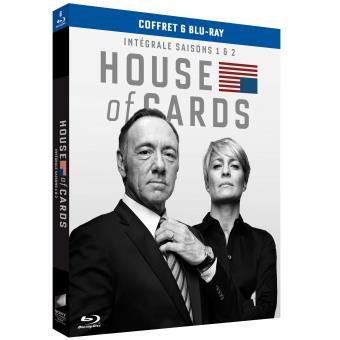 House of cardsL'intégrale des Saisons 1 à 2 Blu-Ray