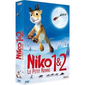 Niko, le petit renneCoffret Niko, le petit renne 1 et 2 DVD