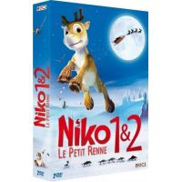 Coffret Niko, le petit renne 1 et 2 DVD