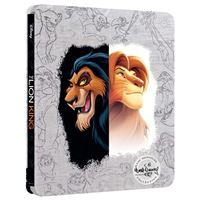 Le Roi Lion Steelbook Blu-ray 4K Ultra HD