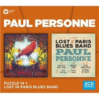 Puzzle 14 Lost In Paris Blues Band