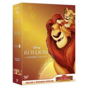 Le Roi lionCoffret Le Roi Lion 4 films DVD