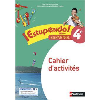 Estupendo espagnol 4e cahier d'activites
