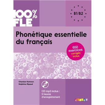 Phonetique Essentielle Du Francais Niv B1 B2 Livre Cd