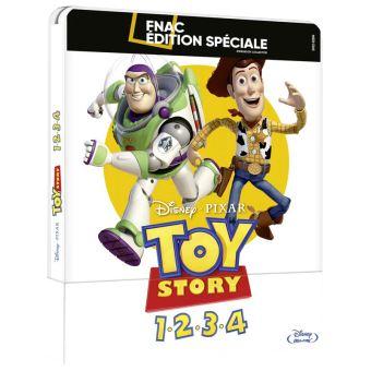 Toy StoryCoffret Toy Story L'intégrale Steelbook Edition Spéciale Fnac Blu-ray