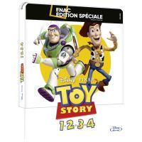 Coffret Toy Story L'intégrale Steelbook Edition Spéciale Fnac Blu-ray