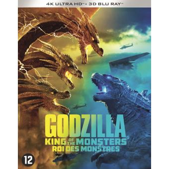 GODZILLA: KING OF THE MONSTERS-BIL-BLURAY 4K