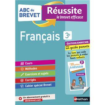 Abc Du Brevet Reussite Famille Francais 3eme