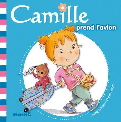 Camille prend l'avion