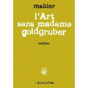 L' Art sans madame goldgruber