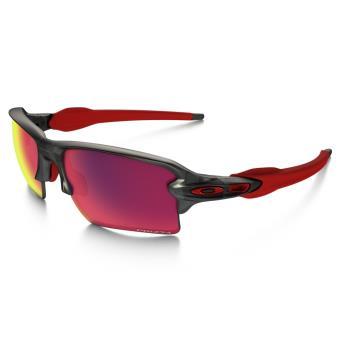 Soleil Xl Noire 0 Rouge Sport Vélo Flak Lunettes Road 2 De Et Oakley Prizm Rqj53Ac4L