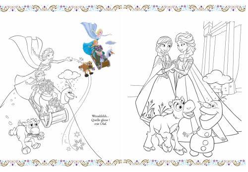 La Reine Des Neiges Avec 1 Grand Poster Disney La Reine Des Neiges Mon Livre De Coloriages Un Grand Poster Collectif Nathalie Wilkin Broche Achat Livre Fnac