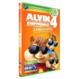 Alvin et les Chipmunks 4 Sélection Gulli DVD