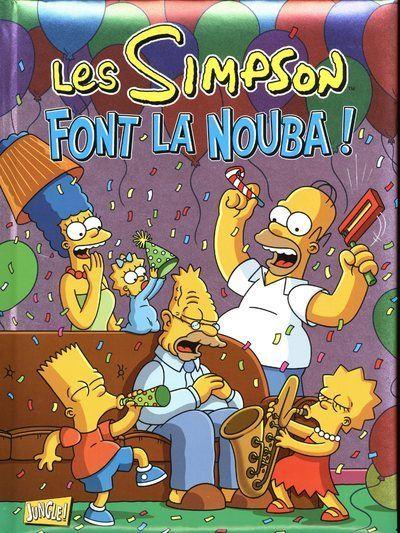 Les Simpson - Spécial fêtes - tome 4 Font la nouba !