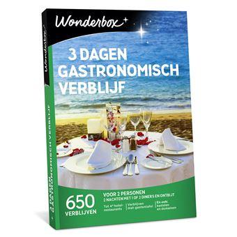 Wonderbox NL 3 dagen Gastronomisch verblijf