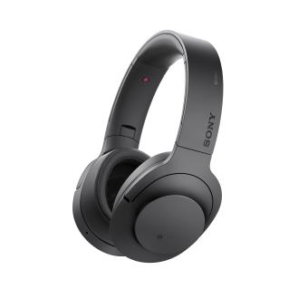 Sony MDR100ABN h.ear on Casque Bluetooth Réducteur de bruit Noir