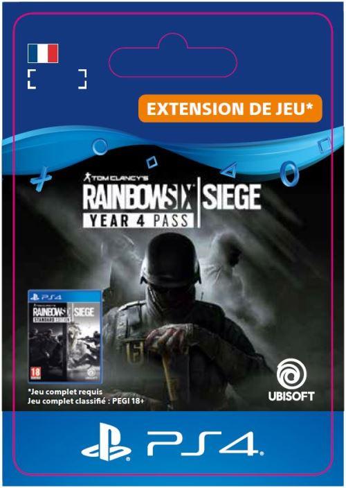 Code de téléchargement Tom Clancy's Rainbow Six Siege PS4 Year 4 Pass Extension