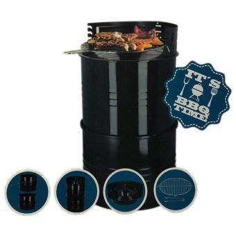 BBQ Time Drum 3in1/Firepit/Sidetable