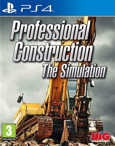 Professional Construction the Simulation PS4