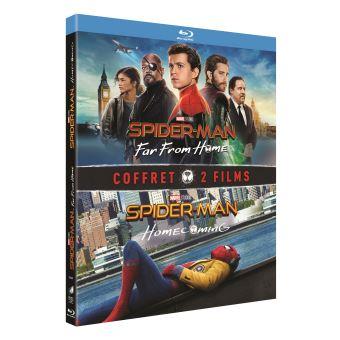 Spider-ManCoffret Spider-Man : Far From Home et Spider-Man : Homecoming Blu-ray