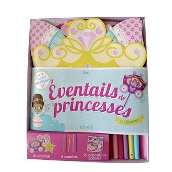 Eventails de princesses a decorer