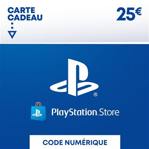 Code de téléchargement Playstation Store Fonds pour Porte-Monnaie virtuel 25