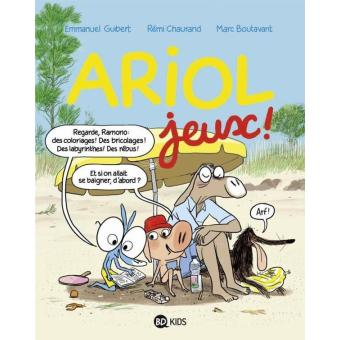 livre bd ariol