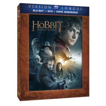 Bilbo le HobbitLe Hobbit : Un voyage inattendu - Version Longue Combo 3 Blu-Ray + 2 DVD