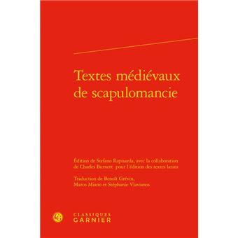 Textes medievaux de scapulomancie