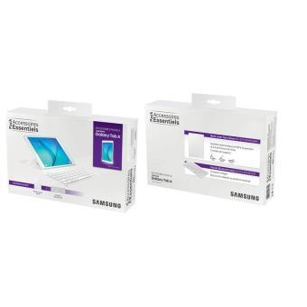 Pack samsung etui rabat et clavier bluetooth blanc pour tablette galaxy tab a 9 7 - Pack office tablette samsung ...