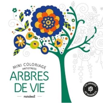 mini coloriage antistress arbres de vie broch collectif achat livre fnac. Black Bedroom Furniture Sets. Home Design Ideas