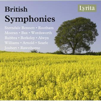 BRITISH SYMPHONIES/4CD