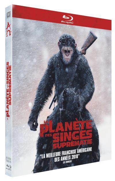 blu-ray du film La planète des singes - Suprématie