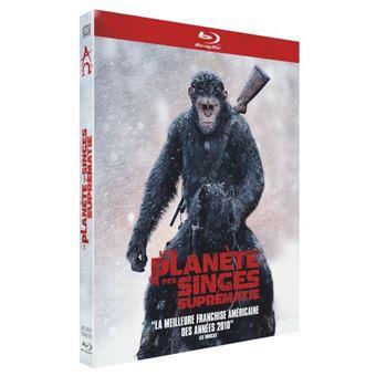 La planète des singesLa Planète des Singes Suprématie Blu-Ray