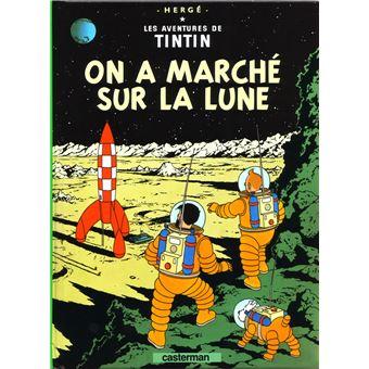 TintinOn a marché sur la lune