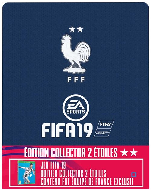 FIFA 19 Edition Collector 2 étoiles Xbox One